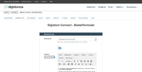 de timeline digistore connect produkt anlegen